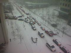 snow gridlock