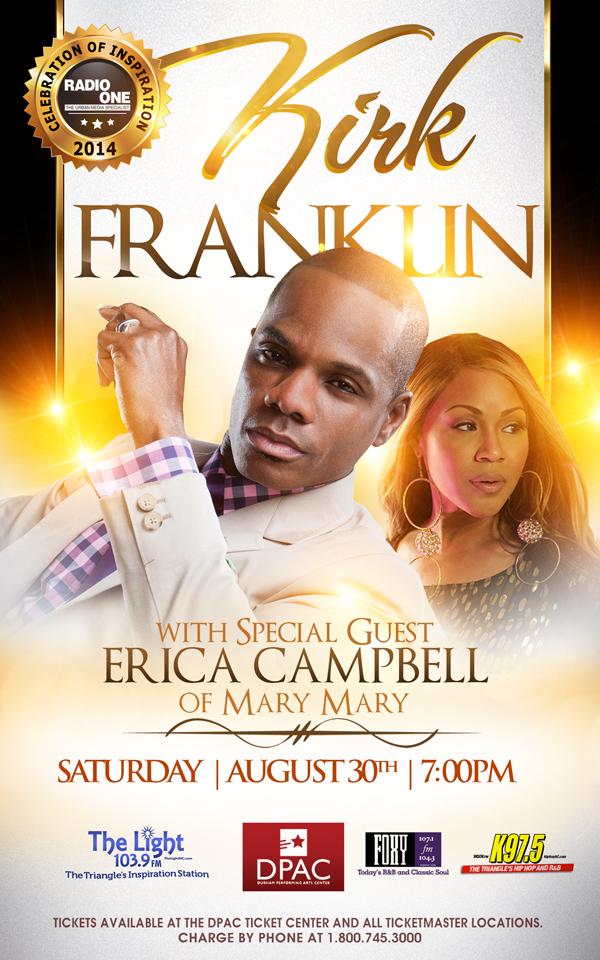 Erica Campbell And Kirk Franklin Headline A Celebration