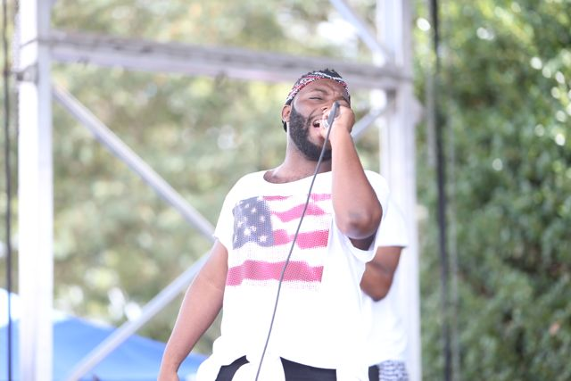 Livre performs at Unity In The Community 2014