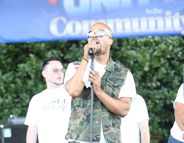 JJ Hairston At Unity in the Community