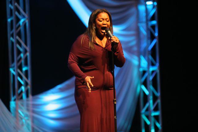 Ruth La'Ontra at Lamplighter Awards 2014