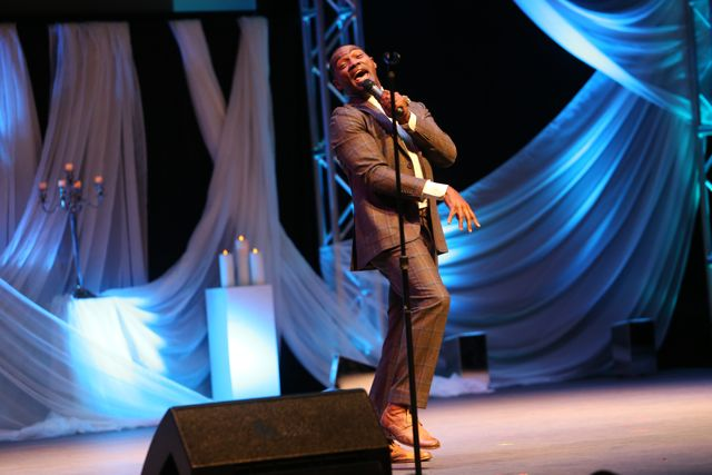 Earnest Pugh at Lamplighter Awards 2014