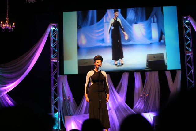 Jessica Reedy Performs At Lamplighter Awards 2014