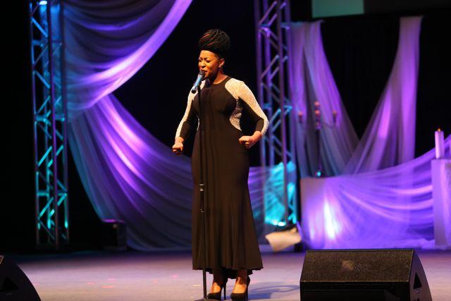 Jessica Reedy at Lamplighter Awards 2014