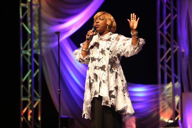 Beverly Crawford at Lamplighter Awards 2014