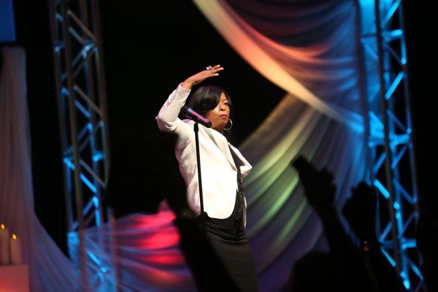 Maurette Brown Clark Performs at Lamplighter Awards 2014