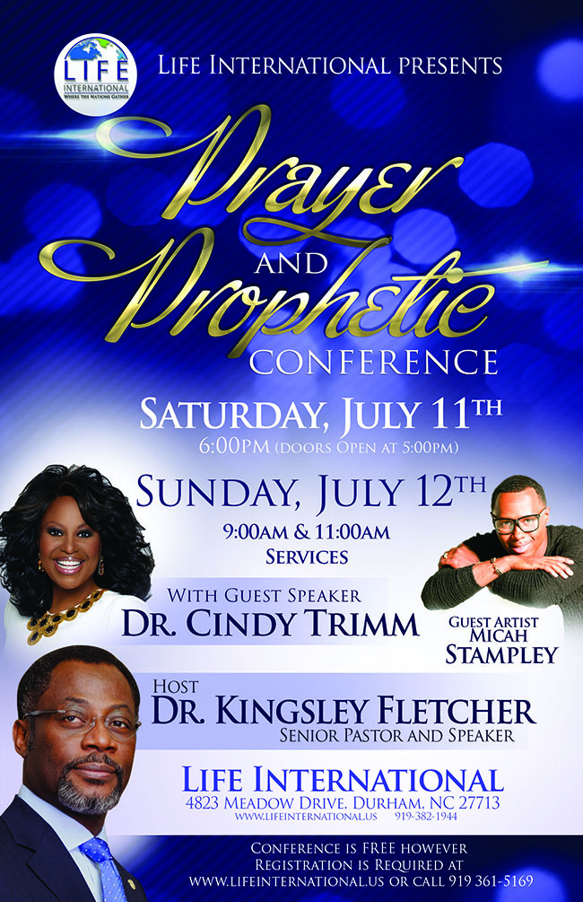 Interview] This Weekend: Prayer And Prophetic Conference