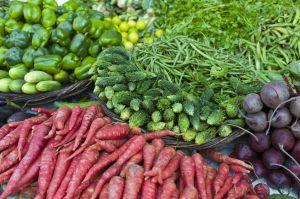 Vegetables on Sale, India