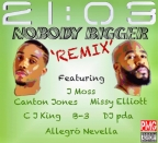 """21:03 """"Nobody Bigger"""" feat: J Moss, Missy, Canton Jones And More [NEW MUSIC]"""