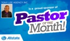 Congratulations To Rev. J. Vincent Terry Sr. Our August Pastor Of The Month