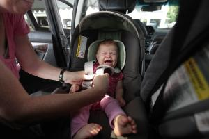 NEW GUIDELINES RECOMMEND KEEPING BABIES IN REAR FACING CAR SEATS THROUGH AGE 2