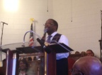 Pastor Of The Month Presentation At Mount Peace Baptist Church