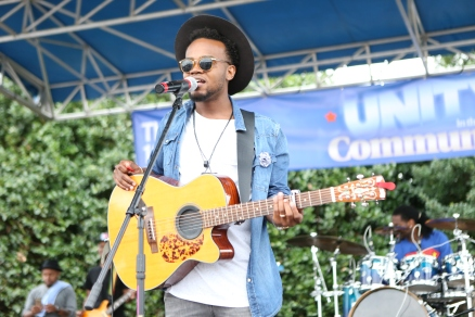 Travis Green Performs At Unity In the Community