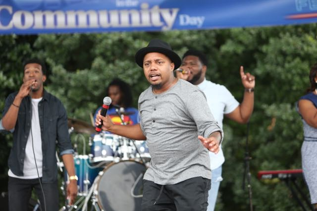 Deon Kipping at Unity In the Community