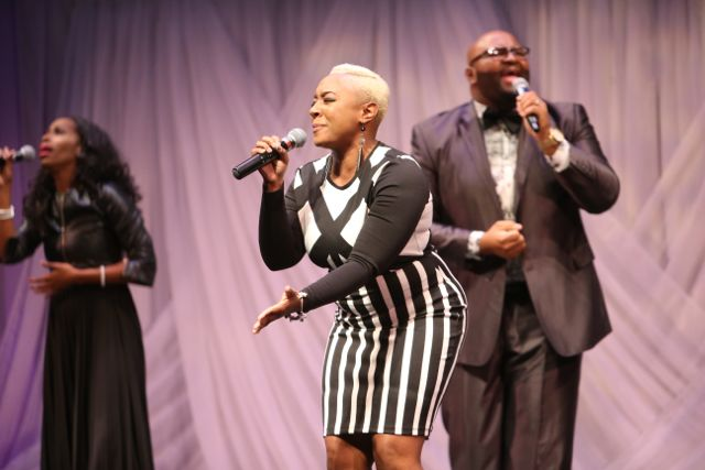 James Fortune at Lamplighter Awards 2015 Performers
