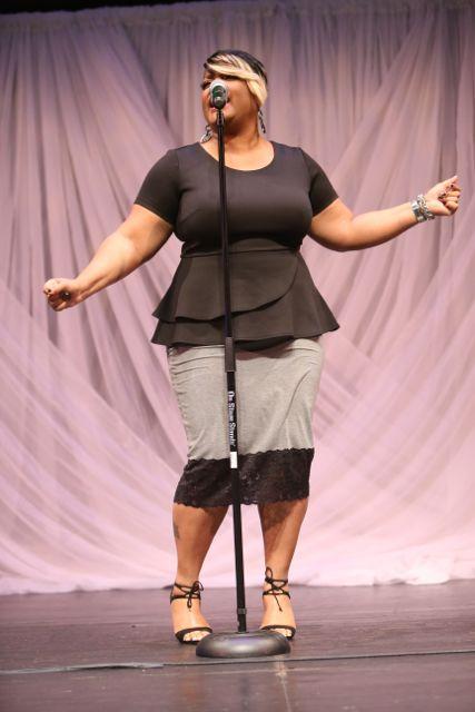 Anita Wilson at Lamplighter Awards 2015 Performers