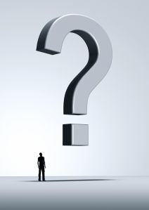 No Answers - Flying Question Mark