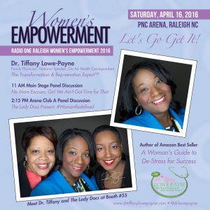 Dr. Tiffany at Women's Empowerment