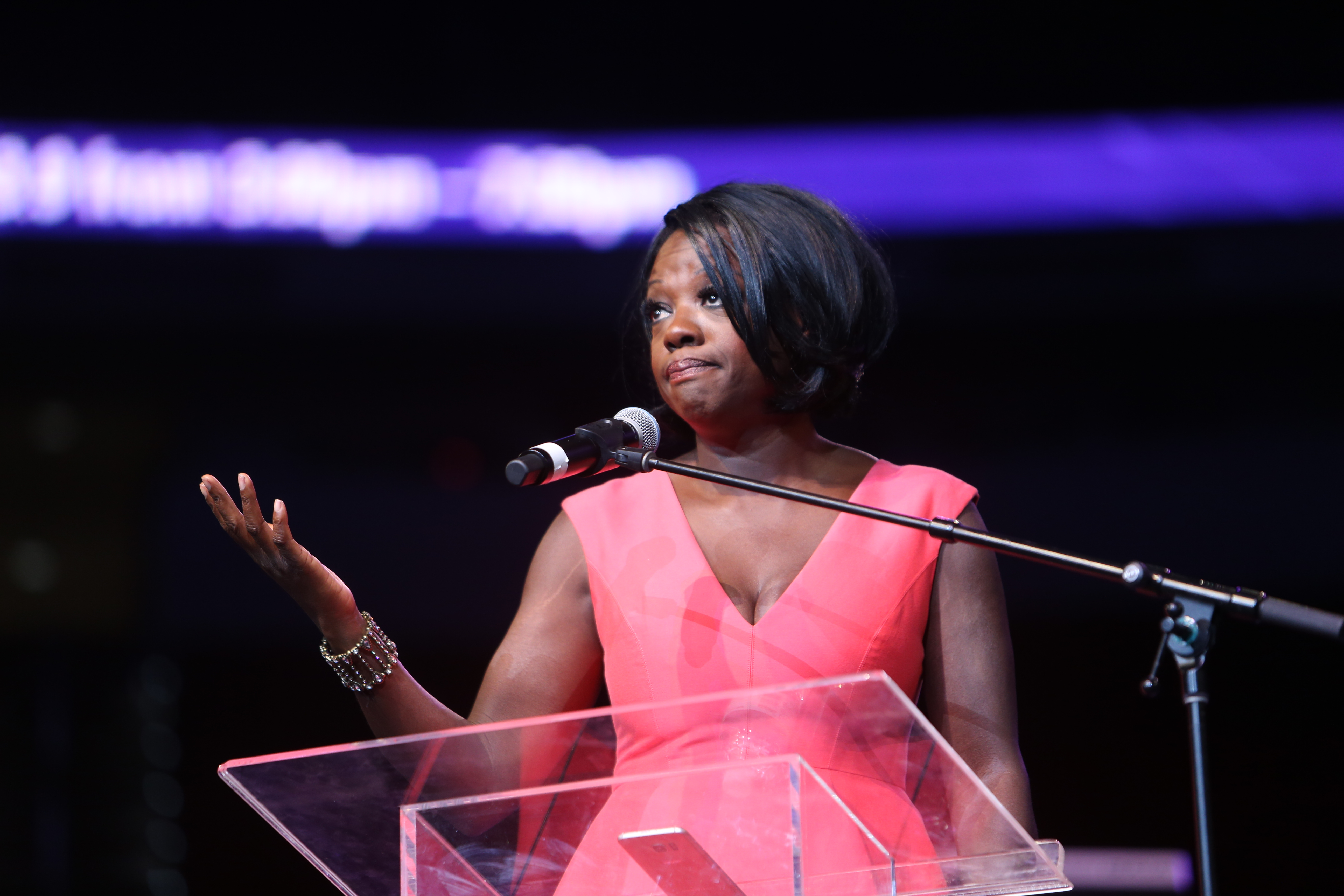 Viola Davis at Women's Empowerment