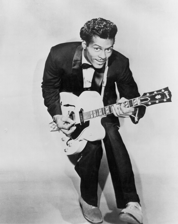 Chuck Berry Portrait