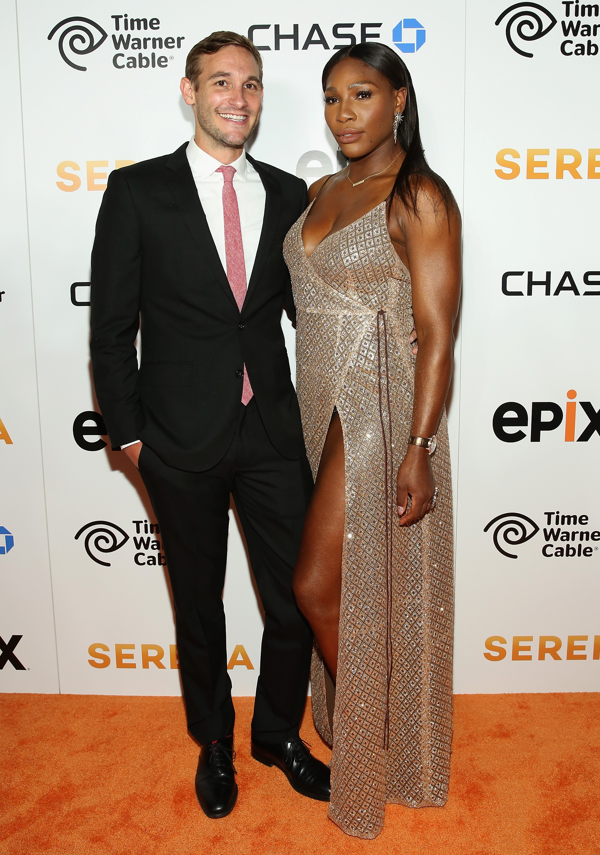 Serena Williams NY Premiere Event