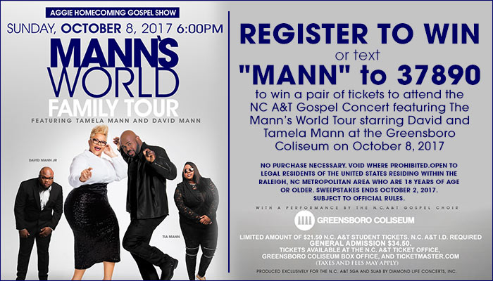 The manns world tour enter to win
