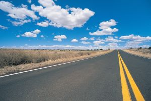 Highway, New Mexico, USA