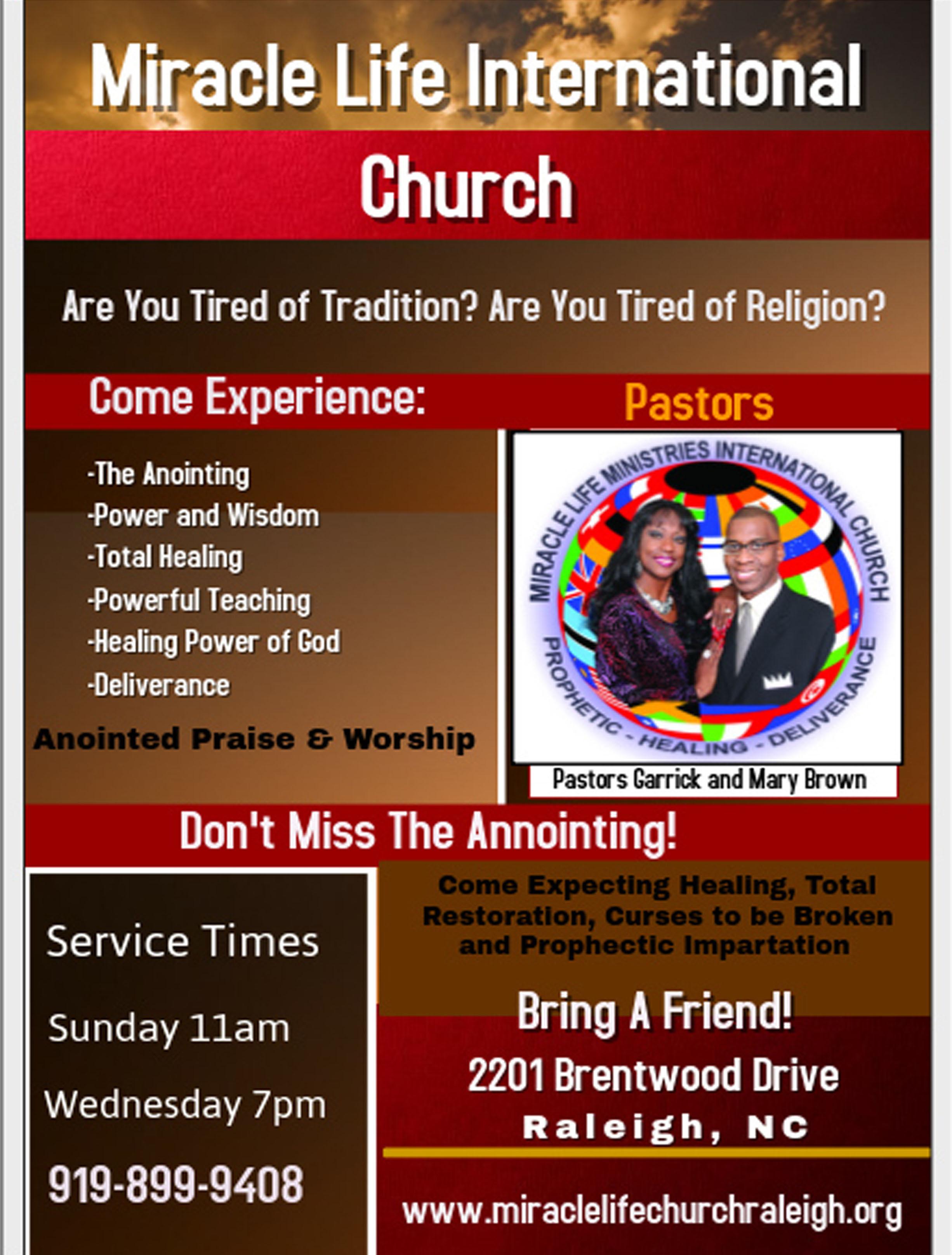 Miracle Life International Church