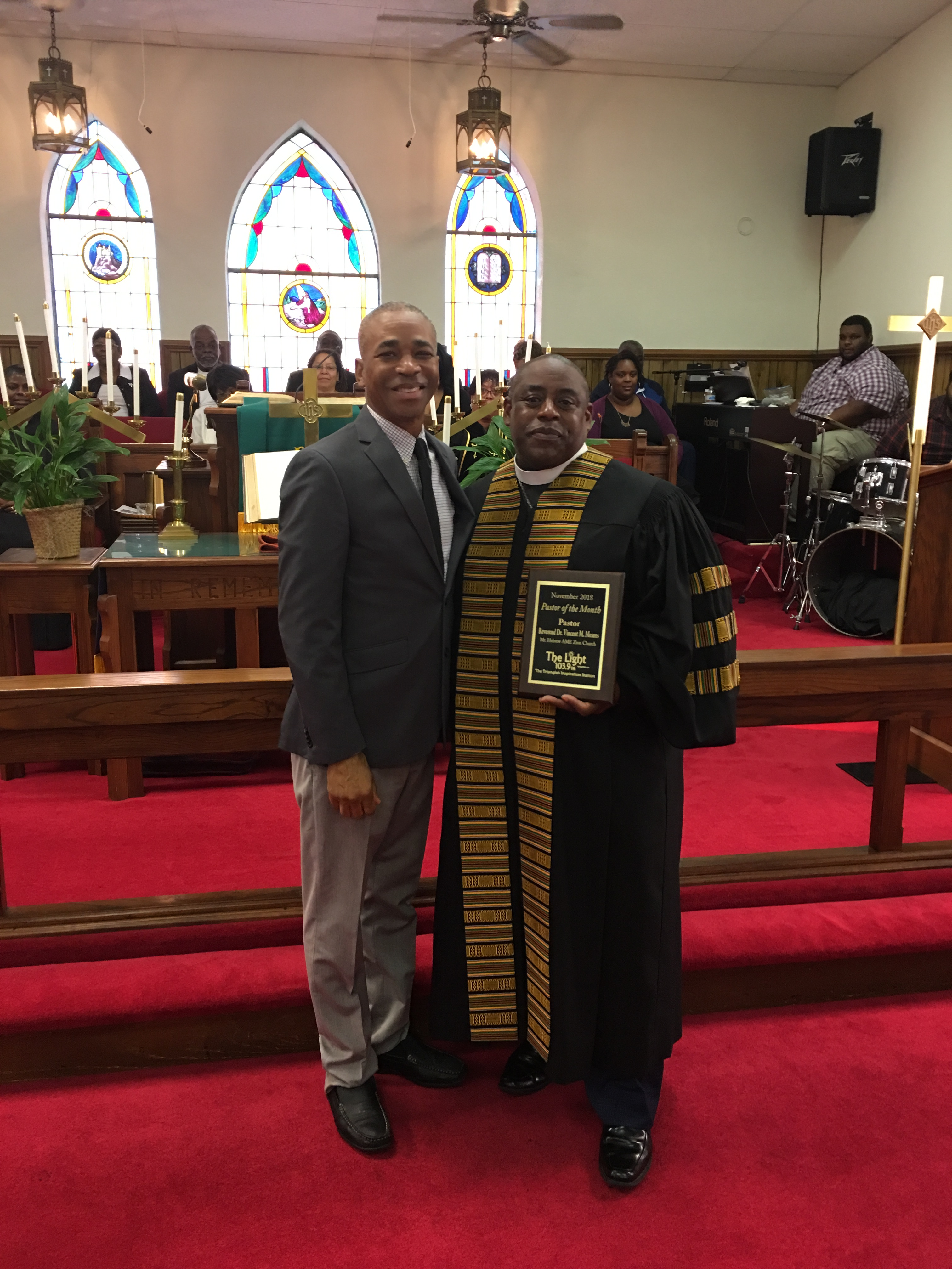 2018 November Pastor Of The Month