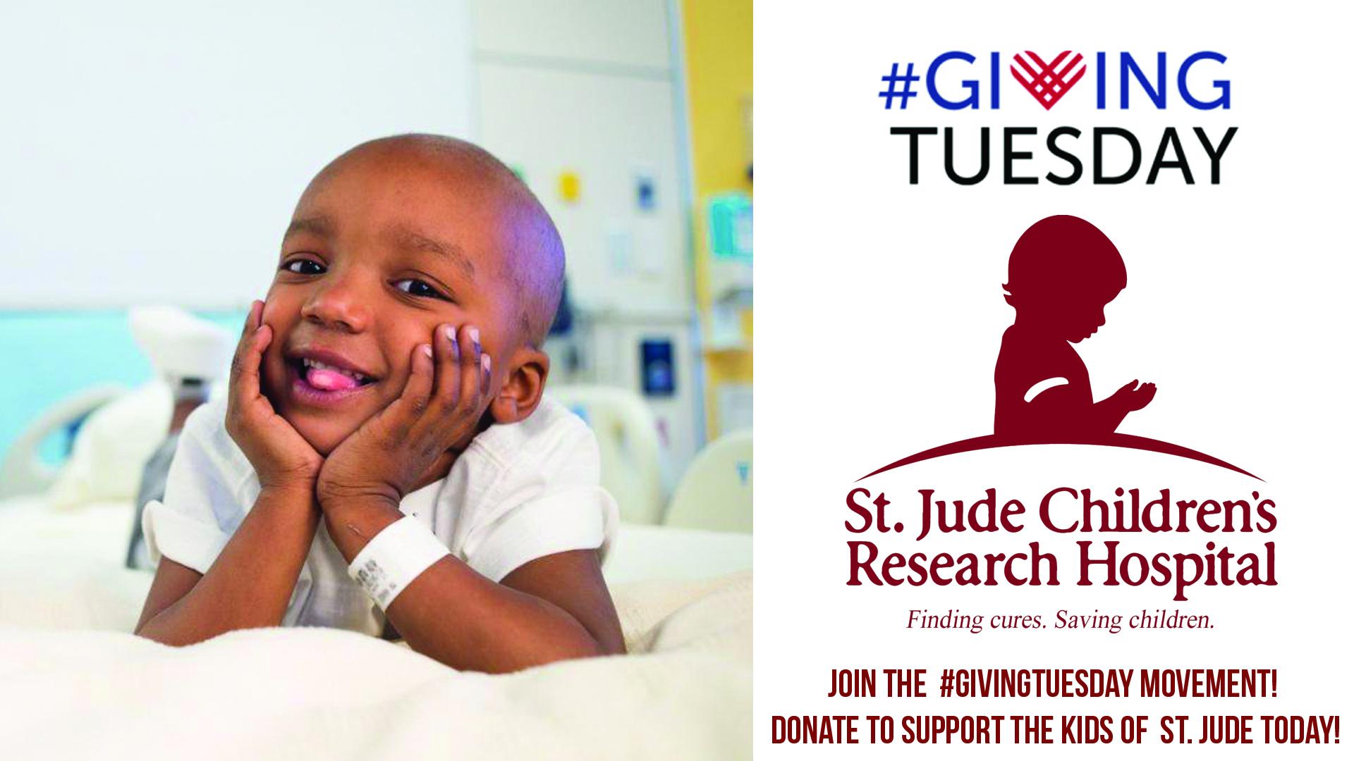 #GivingTuesday - St. Jude