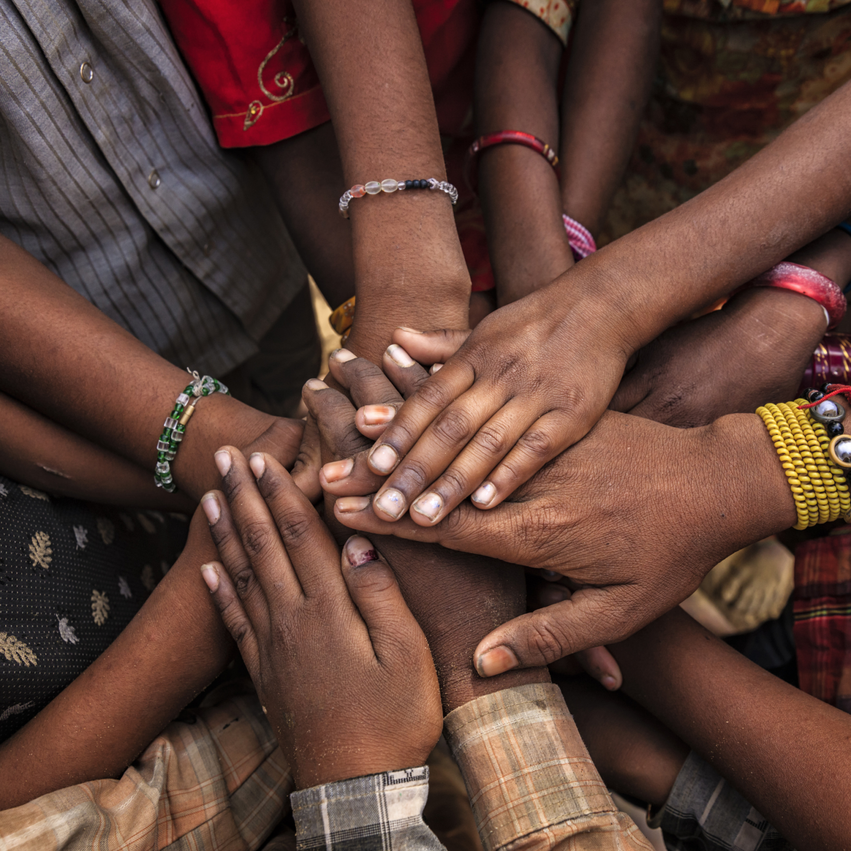 Unity of Indian children, Asia