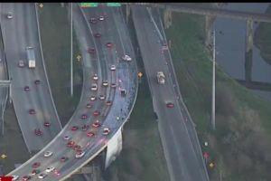 Milk Spill on I-45