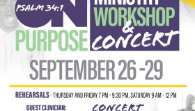Watts Chapel Music Workshop and Concert Flyer