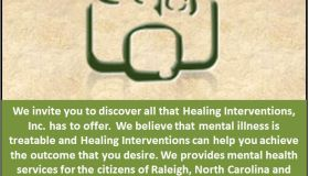 Healing Interventions flyer