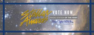 STELLAR AWARDS VOTE NOW GRAPHIC