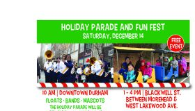 City of Durham Holiday Parade