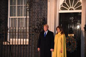 NATO LEADERS MEETING-Downing Street