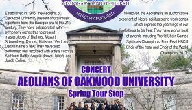 Aeolians of Oakwood University