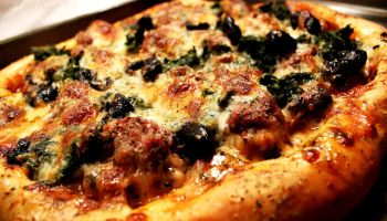 Sweet Basil Pizza Sauce (Bonus: Homemade Turkey Sausage)