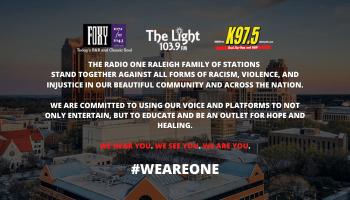 We Are One Radio One Statement