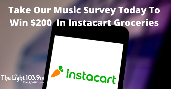 Take Our Music Survey Today To Win $200 In Instacart Groceries